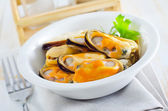 Mussels — Stockfoto