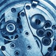 Stock Photo: Clock gears