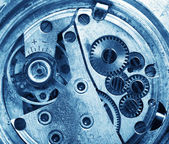 Clock gears — Foto Stock