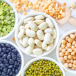 Stock Photo: Color beans