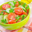 Salad in bowl — Stock Photo #22437469