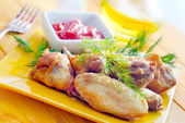Hot Meat Dishes — Stock Photo