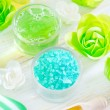 Sesalt and soap — Stockfoto #22825354