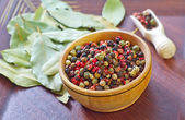Spices in a bowl — Stock Photo