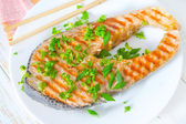 Fried fish — Foto Stock
