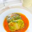 Fresh dolma — Foto Stock