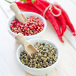 Chilli in a bowl — Stock Photo