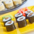 Sushi on plate — Stock Photo #23707767