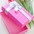 Box for present — Stock Photo #24138759