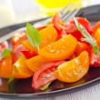 Salad witn tomato — Stock Photo
