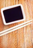 Salsa di soia — Foto Stock