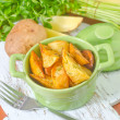 Fried potato — Foto Stock