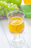 Juice in a glass — Stock Photo