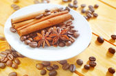 Aroma spice and coffee — Stock Photo