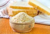 Rusk flour — Stock Photo