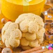 Sweet cookies for chrisnmas — Stock Photo