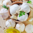 Garlic - Stock Photo