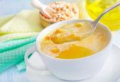 Pea soup — Stock Photo
