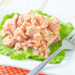 Salad from tuna — Stock Photo #26197393