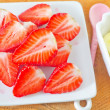 Strawberry and banana — Stock Photo #26295489