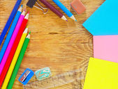 School supplies — Fotografia Stock