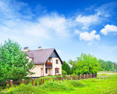 House in Polland — Stock Photo