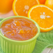 Jam from orange - Stockfoto