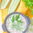 Cold soup - Stockfoto