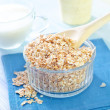 Stock Photo: Oat flakes