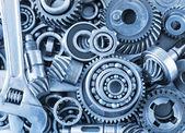 Roulements et engrenages en métal — Photo