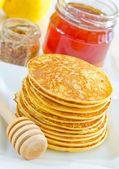 Pancakes — Stockfoto