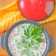 Cold soup — Stock Photo