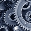 Gears,nuts and bolts — Stock Photo