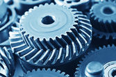 Gears,nuts and bolts — Fotografia Stock
