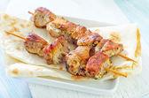 Fresh kebab — Stock Photo