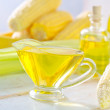 Stock Photo: Corn oil