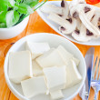 Stock Photo: Tasty tofu