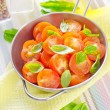Stock Photo: Salad from tomato