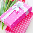 Box for present — Stock Photo #28696943