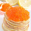 Pancakes with caviar — Stock Photo #29033261