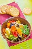 Baked vegetables — Stockfoto