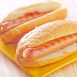 Hot dogs — Stock Photo