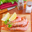 Stock Photo: Shrimps