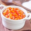White beans with tomato sauce — Stock Photo #29957061