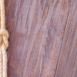 Rope on wooden background — Stock Photo #29957203