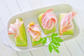 Melon and ham — Stock Photo
