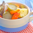 Marinated vegetables — Stockfoto