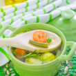 Vegetarian soup — Stock Photo