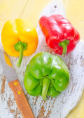 Color peppers — Stock Photo
