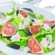 Salad with cheese and figs — Stock Photo #31538183